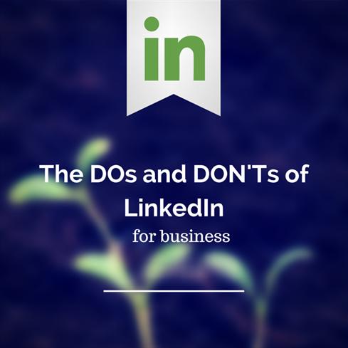 Dos Donts LinkedIn